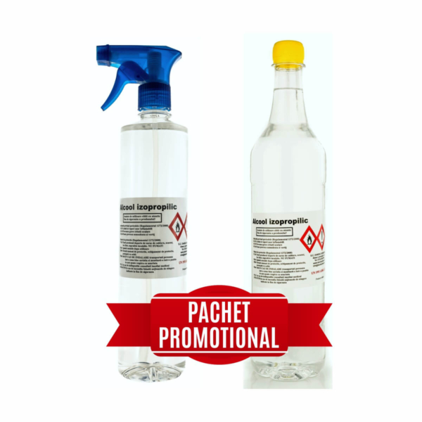 pachet promotional alcool izopropilic