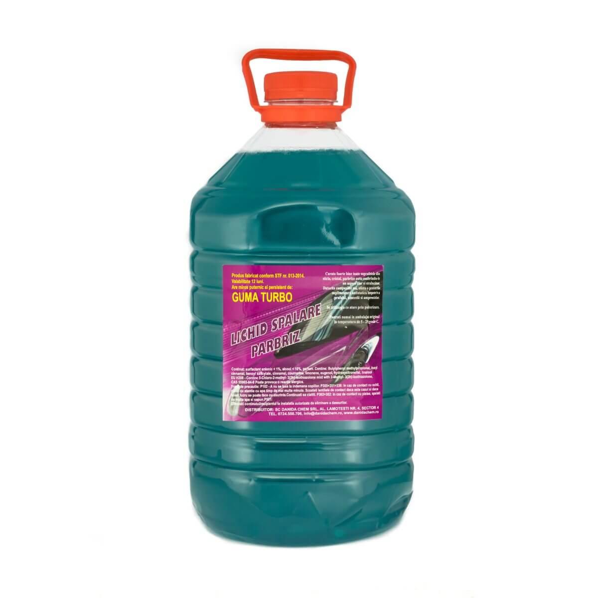 Lichid Parbriz Vara 5l Aroma Puternica De Guma Turbo Sau Liliac