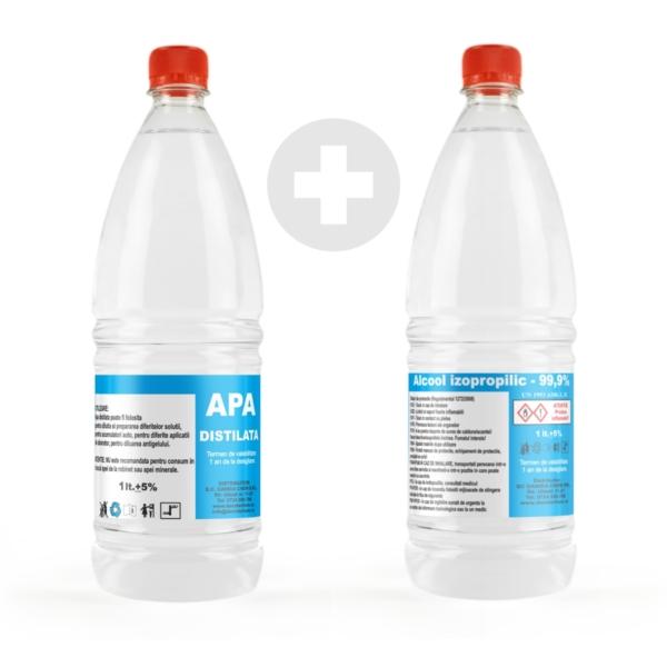 alcool izopropilic apa distilata